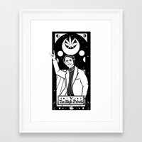 sagan Framed Art Prints featuring HAIL SAGAN! by LADYMAGICUNICORN