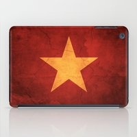 vietnam iPad Cases featuring Vietnam Flag by anhnt32