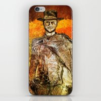 clint barton iPhone & iPod Skins featuring Clint by Rabassa