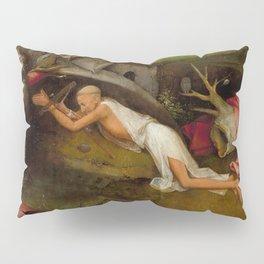 "Hieronymus Bosch ""Saint Jerome at prayer"" Pillow Sham"