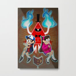Dream Demon Metal Print