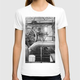 Calumet and Hecla stamp mill, Lake Linden, Michigan  T-shirt
