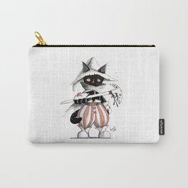 Black Mage Black Cat Carry-All Pouch