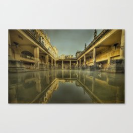 Roman Baths  Canvas Print