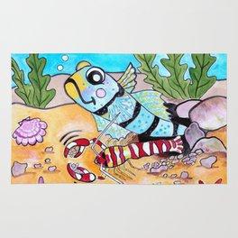 Goby & Pistol Shrimp Rug