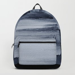 Abstract black painting 2 Backpack