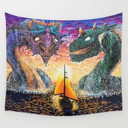 Weiter, ins Verderben Wall Tapestry