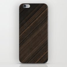 Ebony Macassar Wood iPhone & iPod Skin