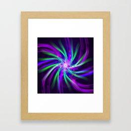 molecular memory Framed Art Print