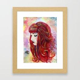 Alternative Goddess - Alana Framed Art Print
