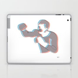 Boxing Ali (coulour) Laptop & iPad Skin