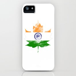 India/Canada iPhone Case