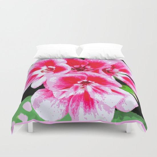 Flower | Flowers | Mod Pink Petals Duvet Cover