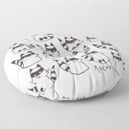 racoons Floor Pillow
