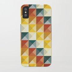 B/W/Y/O/R iPhone X Slim Case