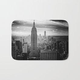 New York City Skyline Bath Mat