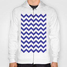 Chevron (Navy & White Pattern) Hoody