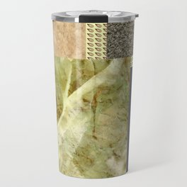 cozy texture . artwork Travel Mug