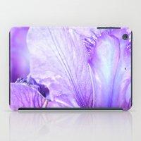 musa iPad Cases featuring Iris Dream by Sheila Burgos - Musa Indulge