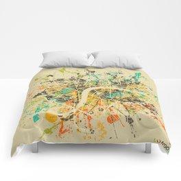 LONDON MAP Comforters