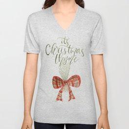It's Christmas Thyme Unisex V-Neck