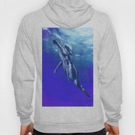 Whale with baby Hoody