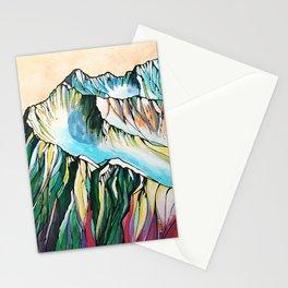 Alyeska Mountain at Jack Sprat Stationery Cards