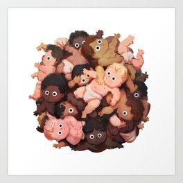 Baby Ball Art Print