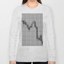 Candlestick, Forex Long Sleeve T-shirt