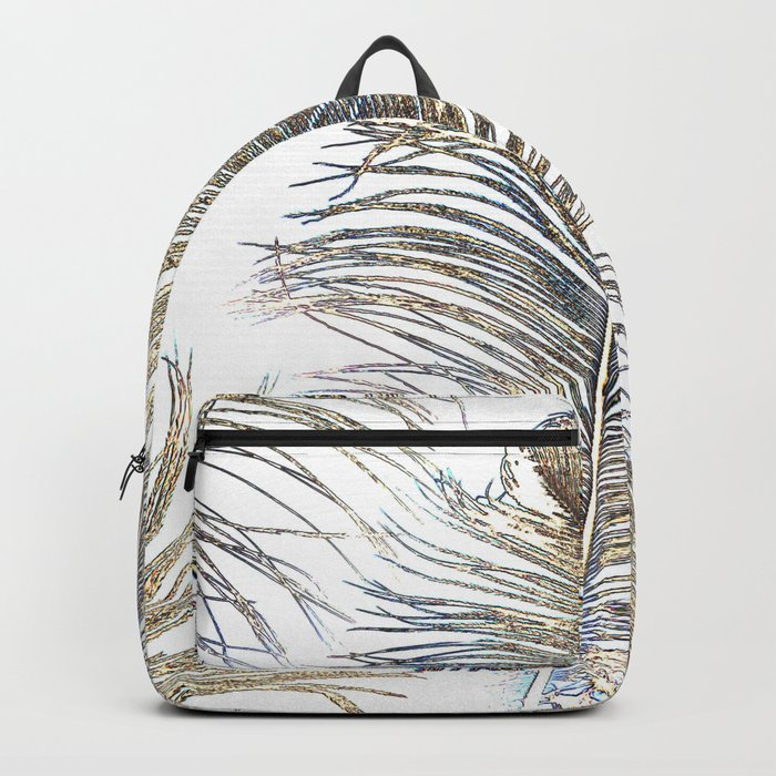 Ostrich Gold Backpack