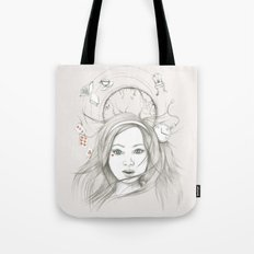Down and Down and Down Tote Bag