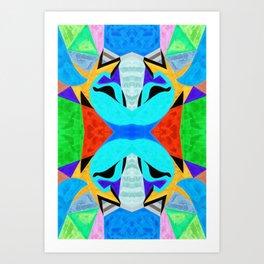 十六 (Shíliù) Art Print