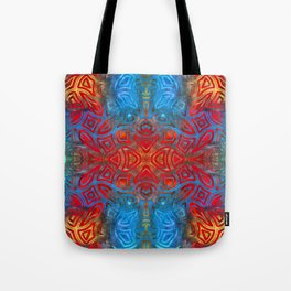 The Easter Bunny Visual Enigma III Tote Bag
