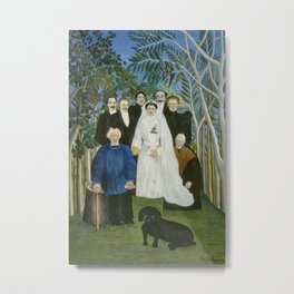 The Wedding Party Metal Print