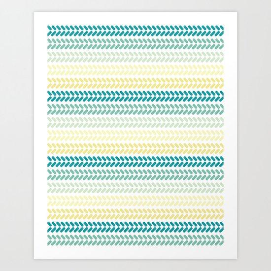 Knit 1 Art Print