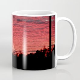 British Winter Sunset Coffee Mug