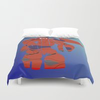 baymax Duvet Covers featuring baymax armour by pokegirl93
