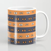 haikyuu Mugs featuring Haikyuu!! Karasuno Bows by InkyThoughts