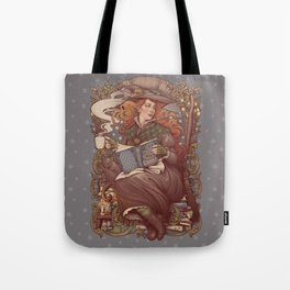 NOUVEAU FOLK WITCH Tote Bag