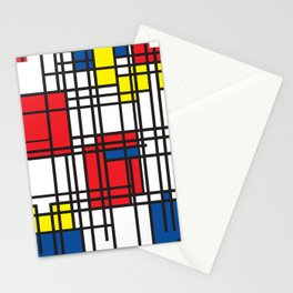 Primary Colors 5 Stationery Cards