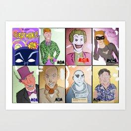 Bat Rogues Art Print