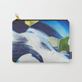 Abstraction - Piece of Blue - by LiliFlore Carry-All Pouch
