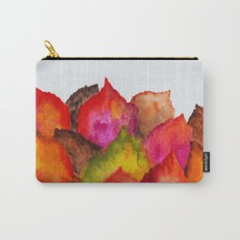 Autumn abstract watercolor 01 Carry-All Pouch