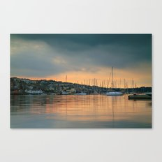 Falmouth Harbour Sunset Canvas Print