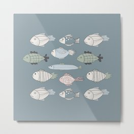 Fishky Metal Print