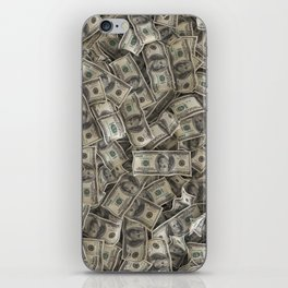 Full of franklins iPhone Skin