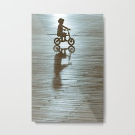 Me and my Shadow Metal Print