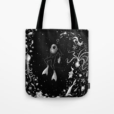 SPACE DIVE Tote Bag