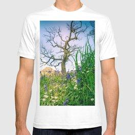 Amongst the Dusty Bluebells T-shirt