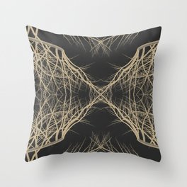 Branch Theory Throw Pillow
